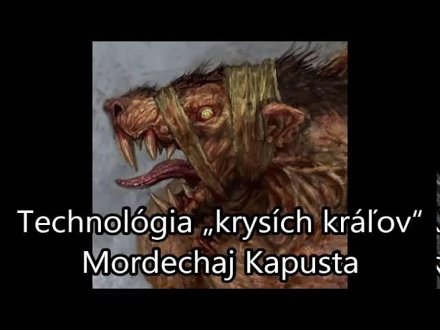 """Technológia """"krysích kráľov"""" - Mordechaj Kapusta"""