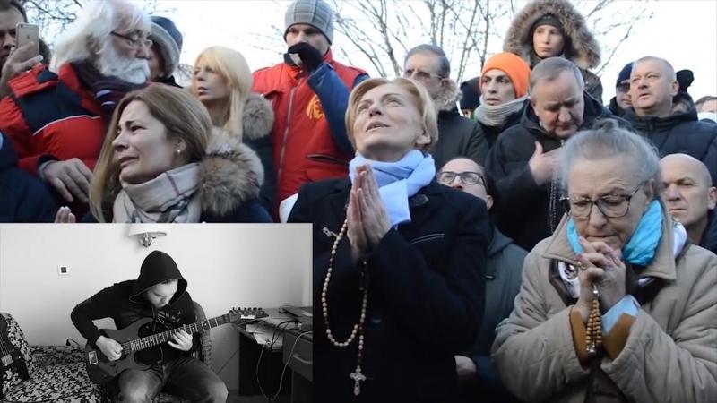 Virgin Mary's apparition in Croatia - Black Metal Edition