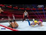 Raw 14 November 2016 -- Sasha Banks &amp Charlotte Flair vs Alicia Fox  &amp Nia Jax