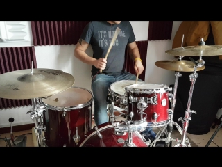 Fill 1 for timba cubana on drumset