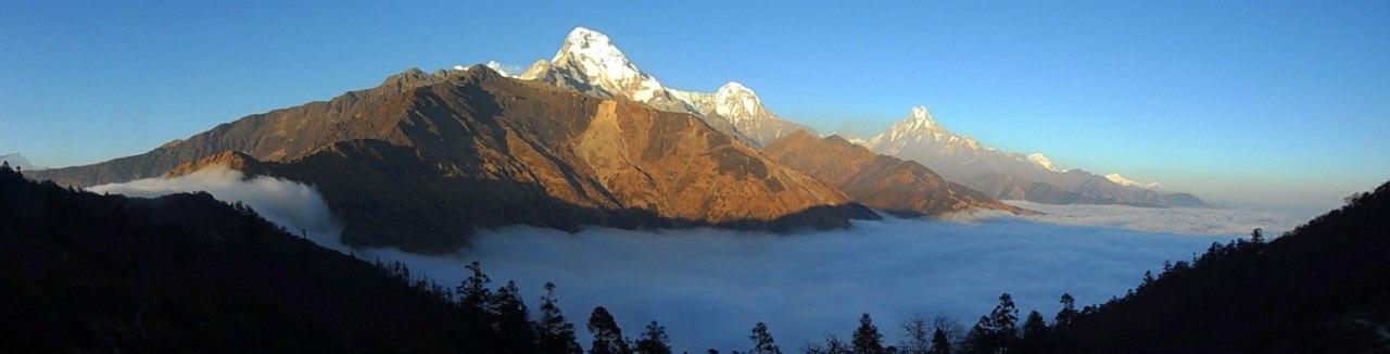 Новогодний треккинг в Гималаях! Дикими тропами Аннапурны! Гарантированная группа!