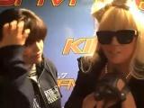 2008: интервью для Kiis FM (Karly Henriquez) (Gagavision.net)