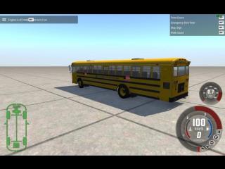 электро автобус из стартера и жопы(попы)