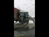 Авария в районе Поспелово. (Елабуга—Набережные Челны)
