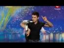 Выступление бармена Александра Штифанова на шоу Украина мае таланти