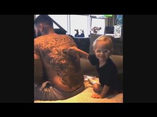 Как дети реагируют на татуировки Тимати!