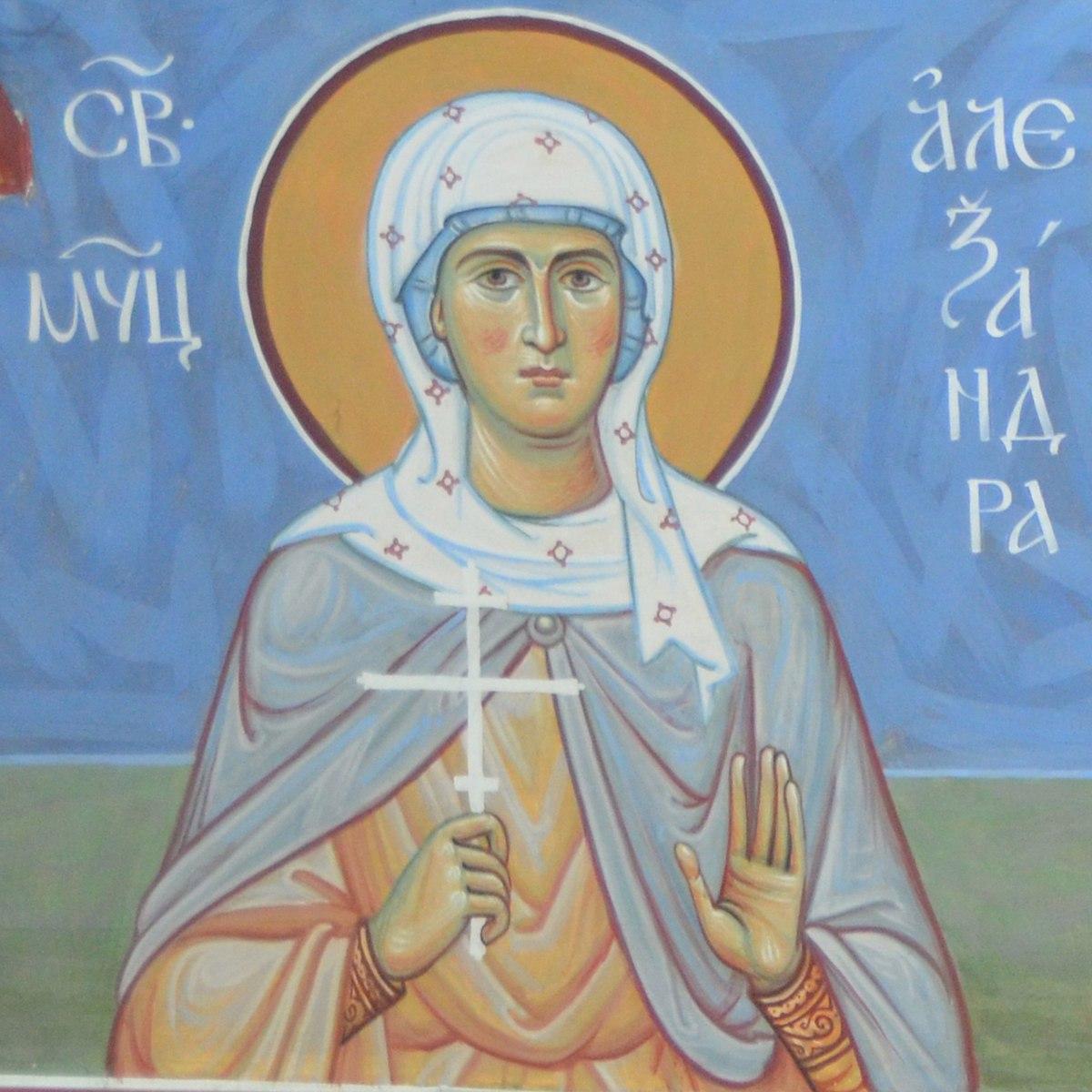 Преподобномученица Александра (Хворостянникова)