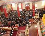В Центральном хуруле Калмыкии прошли первые предновогодние ритуалы долгой жизни
