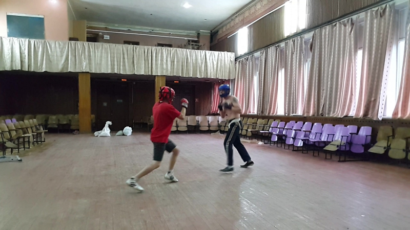 Галкин-Чесноков (рукопашная разминка0