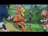 Наруто, Саске и Сакура против Какаши