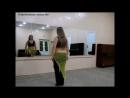 Пластическая связка №1.Урок танца живота для продолжающих.