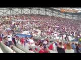 Российские болельщики поют Катюшу на матче Россия-Англия | Евро 2016 | Чемпионат (16.06.2016)