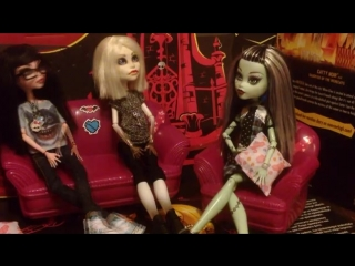 Stop motion Monster High/Шоу