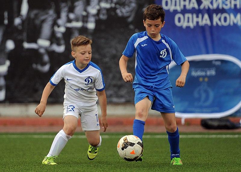 Секция футбола Динамо