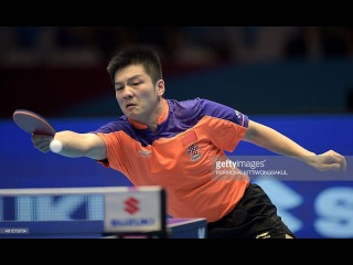 FAN Zhendong vs ZHOU Yu Highlights HD China National Championships 2016 FINAL