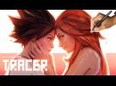 Ross Draws TRACER and EMILY (Valentines Day Overwatch)
