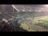 Факел - Динамо М | беспорядки на матче