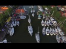 Finish 24 Uurs Zeilrace 2016 vanuit de lucht