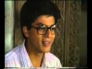 Shahrukh Khan Workin in Ummeed 1989 acting in early TV show