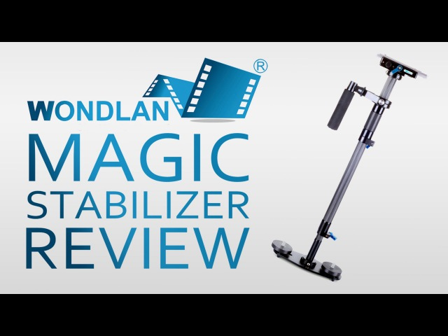 Wondlan Magic Carbon Fiber Stabilizer REVIEW TEST FOOTAGE