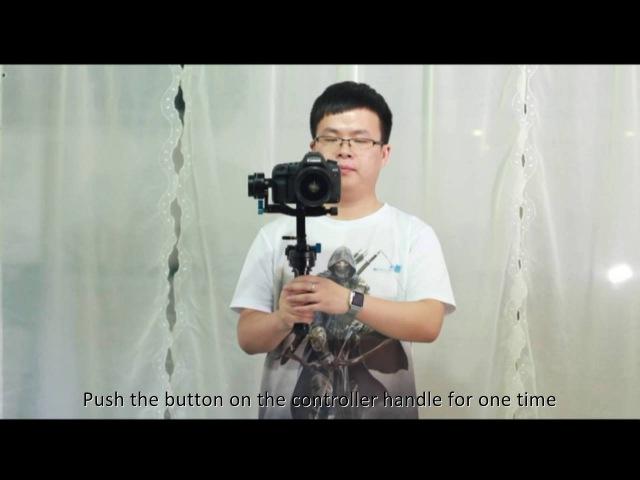 Wondlan Remote Control 3 axis Gimbal Stabilizer