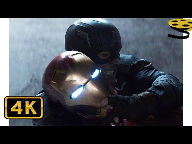 Капитан Америка Зимний Солдат VS Железного Человека|Первый мститель:Противосто...