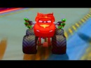 Тачки Маквин Монстер Трак Мультики про Машинки Игры Гонки Cars McQueen Game