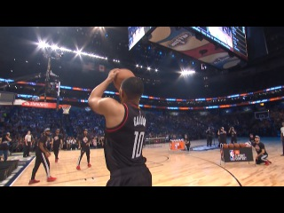 Eric Gordon Scores 24 In The 1st Round Of The 2017 JBL Three Point Contest | 02.18.17