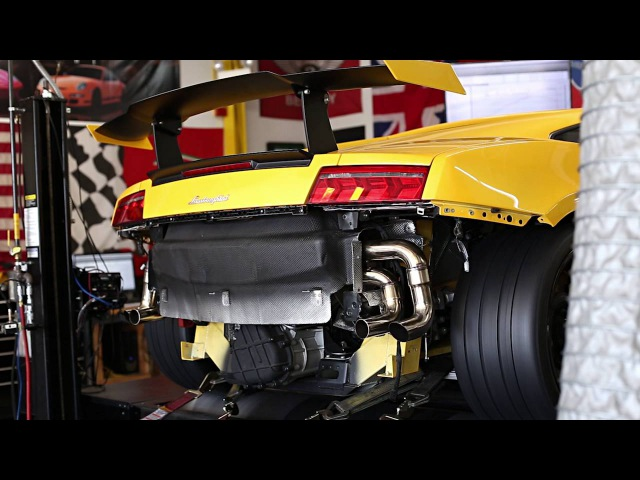 DYNO SESSION: Lamborghini Gallardo LP570-4 Squadra Corse