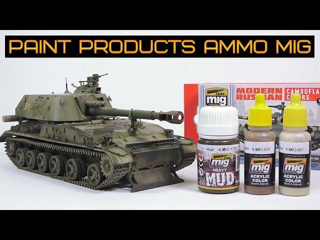 Покраска модели продукцией AMMO MIG