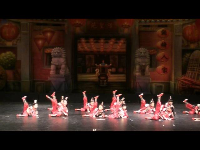 2014年2月1日俄州中国节第二场节目 9 舞蹈 兵马俑 克利夫兰当代中国文化协会