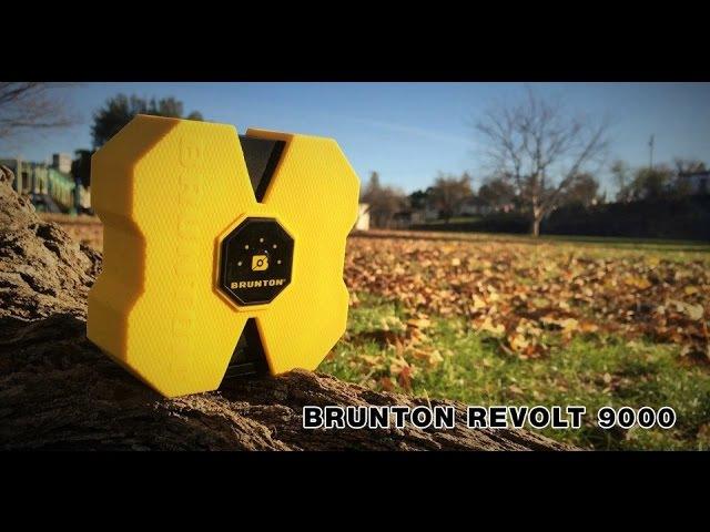 Обзор лучшего PowerBank - Brunton Revolt 9000