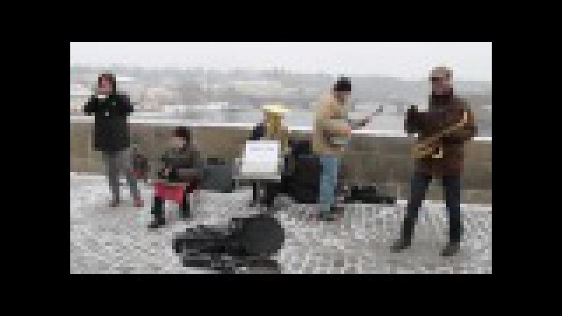 Bridge Band at Charles Bridge (Karlův most), Prague