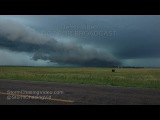 Bristol South Dakota Intense Damaging Winds - 7/16/2016