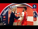 Tunnel Cam - Arsenal vs Manchester City - Emirates FA Cup Semi-Final | Inside Access