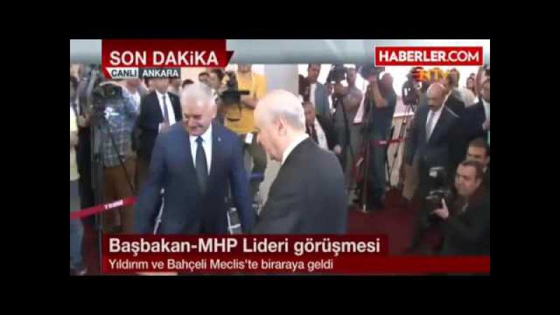 Başbakan Kılıçdaroğlunun Ardından Bahçeli İle Görüşüyor 01.08.2016