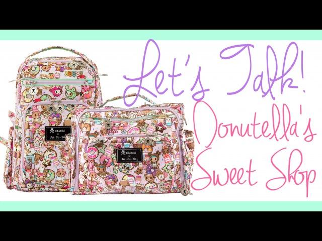 Let's Talk! Donutella's Sweet Shop: tokidoki x Ju-Ju-Be!