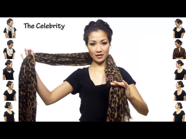 25 способов красиво завязать шарф