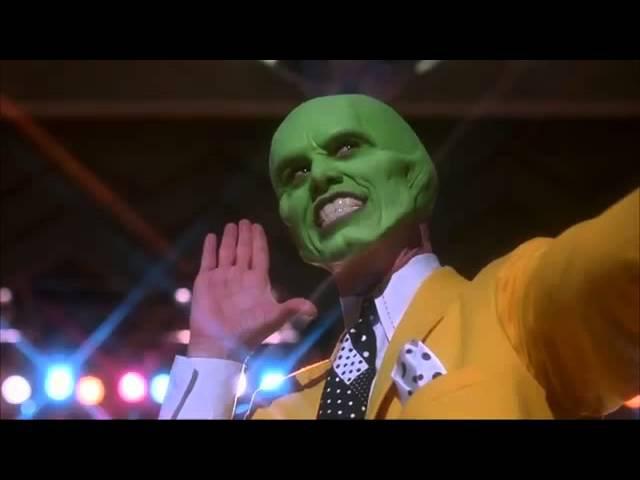 Маска фильм 1994г Джим Керри Камерон Диаз танец в клубе Коко Банго