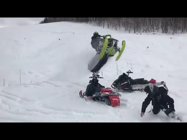 The Best Snowmobile 6 || Snowmobile FailWin Compilation