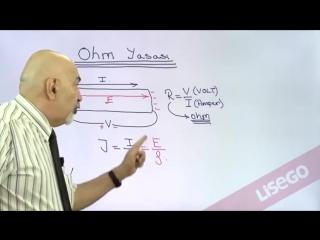OHM Yasası(Kanunu) Konu Anlatımı - YGS LYS - Lisego