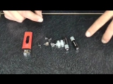 Зажигалка из двух батареек