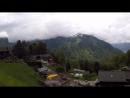 Bex Gryon Villars sur Ollon Train Ride Switzerland