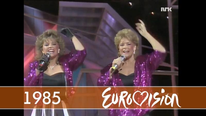 1985 Bobbysocks! - La Det Swinge (Норвегия) (Eurovision - Евровидение 30)