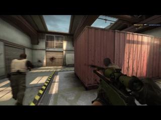 Прострел с AWP(no scope)
