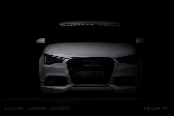 Audi A1 by Rieger tuning<br><br>#a1 #audi_a1 #audi_tuning #vag_tuning_ru