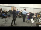 Репетиция Riccardo Fogli c Concord orchestra