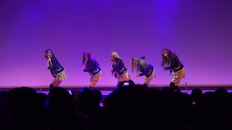 Real Girls Project(리얼걸 프로젝트)「EXO - 으르렁(Growl)」 第2回 韓日文化交流キャラバン ~平昌・長野の冬~ 2016.12.17