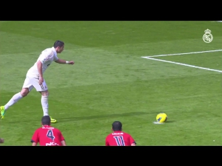 Cristiano Ronaldos league goals against Osasuna! ⚽⚽⚽