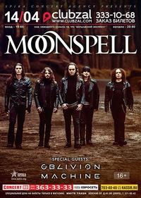 MOONSPELL (Prt) ** 14.04.16 ** СПб (ClubZal)